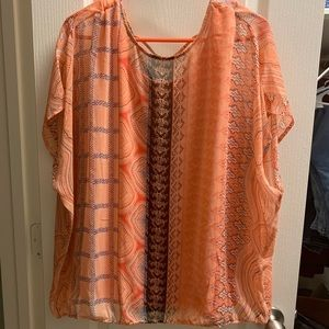 Cute Two Layer Shirt Size XL